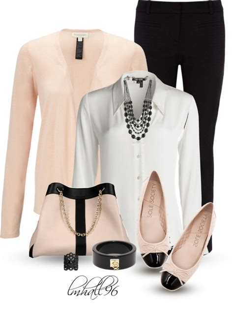 Cute Spring Polyvore Outfits to Wear to Work - All For Fashions - fashion beauty diy crafts ...