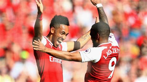 Aubameyang-Lacazette partnership possible for Arsenal ...
