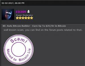 Autobtcbuilder Building Your Bitcoin Skills