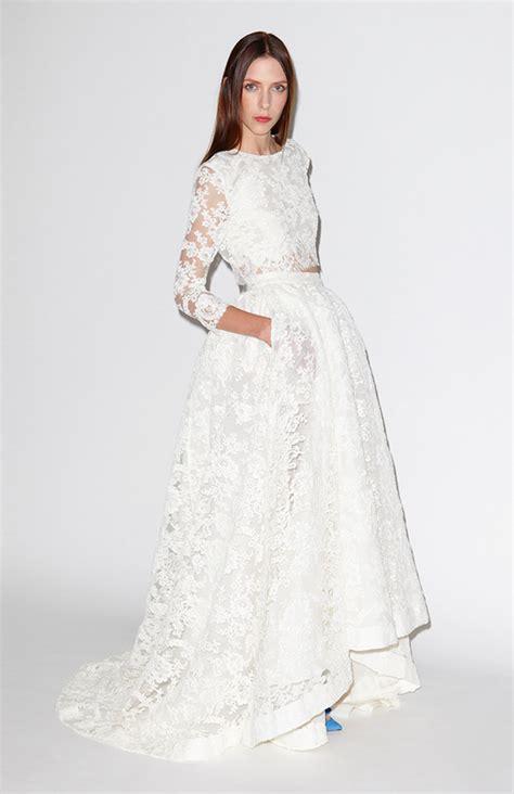 bridal fashion trend  piece wedding dress arabia