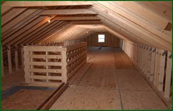 attic storage ideas home featuring   roof pitch