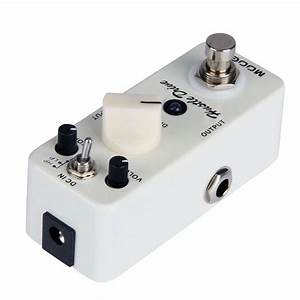 Mooer Mini Hustle Drive Distortion Effect Guitar Pedal