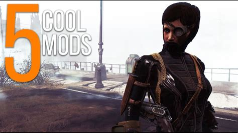 5 Cool Mods Episode 38 Fallout 4 Mods Pcxbox One Youtube