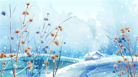 Anime Winter Scenery Wallpaper - anime winter scenery wallpaper find best anime