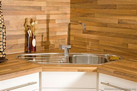 Laminate Backsplash Ideas : Laminate Kitchen Backsplash Oak Wood Idea
