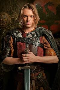 Jamie Campbell Bower As King Arthur In Camelot Jamie
