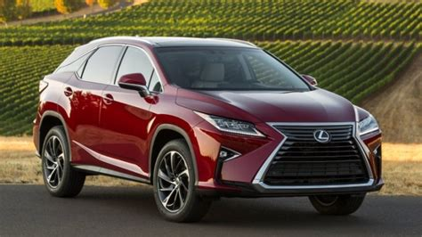 2017 Lexus Rx 350 Red 200 Interior And Exterior Images