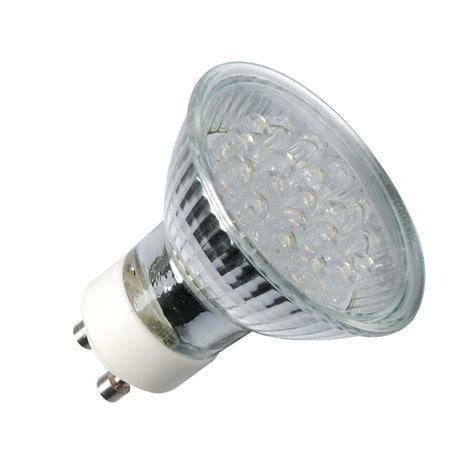 led strahler gu10 led gu10 strahler le spot leuchtmittel birne 230v schutzglas nur 1 2w ebay