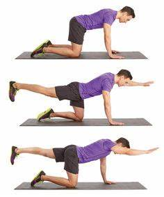 9. Table Top Pull Back | Workout | Pinterest | Posts, HIIT ...