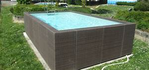 Piscine Composite Hors Sol : dolce vita diva aquarev 39 piscines choisit l 39 l gance pour ~ Dailycaller-alerts.com Idées de Décoration