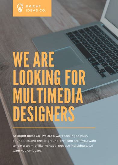 Home Designing Is Looking For Writers by Customize 86 Vacancy Announcement Templates
