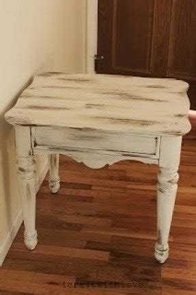 white distressed end tables distressed end table foter 1289