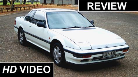 1988 Honda Prelude 4ws Review