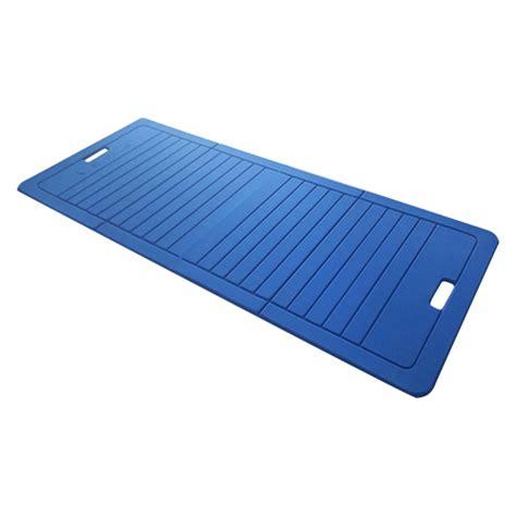natte de tapis de protection sveltus tapis de pliable bleu 1400 x 600 x 10 mm