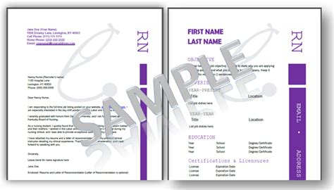 nursing resume templates    job guide  nurses
