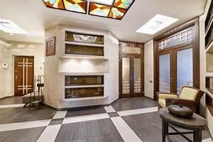 Il Design Degli Interni Della Lobby In Una Casa Di