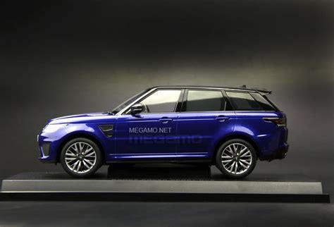 range rover sport blue 1 18 kyosho range rover sport svr estoril blue indus