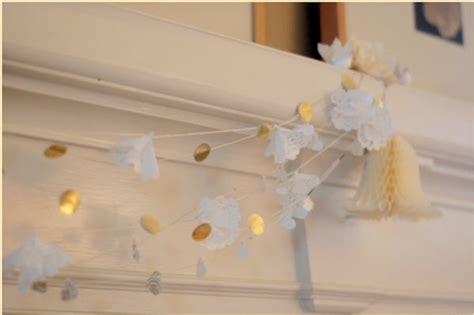 Crafts Wedding Decorations by Diy Wedding Decorations Doily Flower Wedding Garland