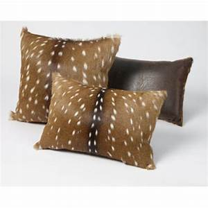 axis deer rectangle pillow king ranch saddle shop With axis deer pillow