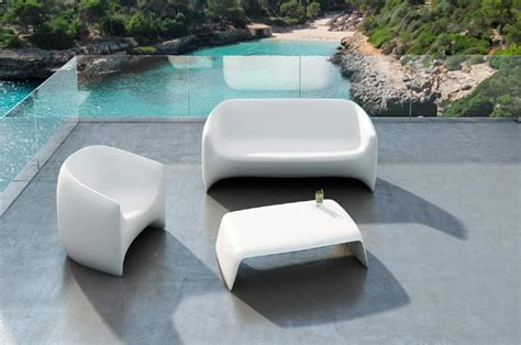plastic outdoor furniture outdoor plastic sofa sofa for outdoor plastic stackable Modern