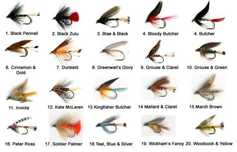 essential loch trout fly selection  essential fly