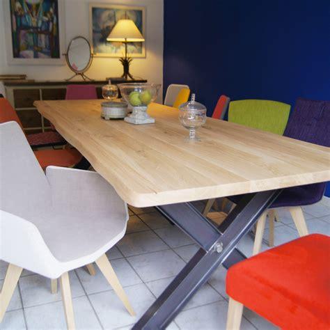 chambres d h es table métal pied ipn fabrication française villa mélodie