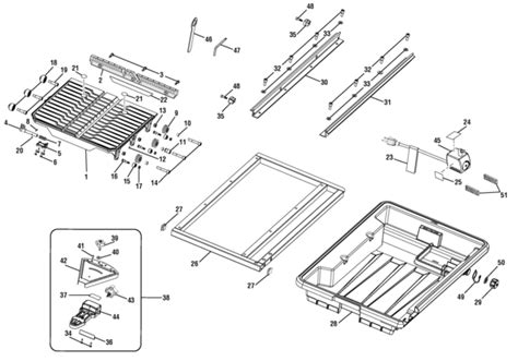 Ryobi 7 Tile Saw Assembly by Rubi Dt180evo 7 In Tile Saw Parts And Accessories