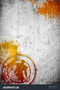 Abstract Color Basketball Streetball Poster Flyer Stock ...