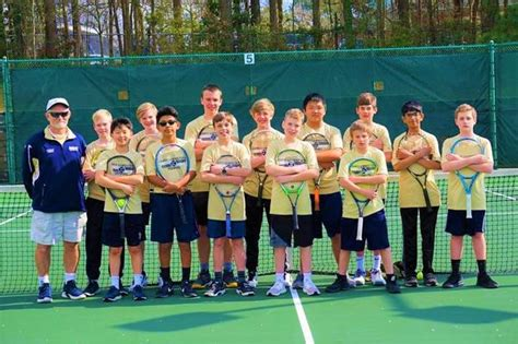 cary christian school mens middle school tennis spring schedule