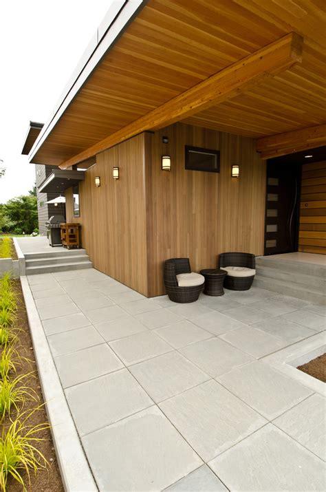 24x24 concrete pavers porch contemporary with 24x24
