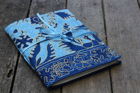 Fabric Journal Cover Tutorial.
