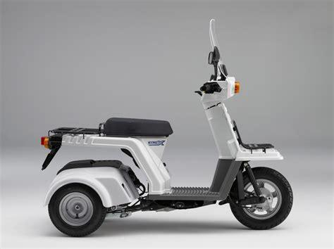 Honda's 50cc Three-wheeled Gyro Cargo Scooter