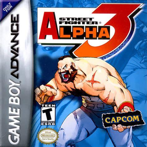 Street Fighter Alpha 3 Box Shot For Game Boy Advance