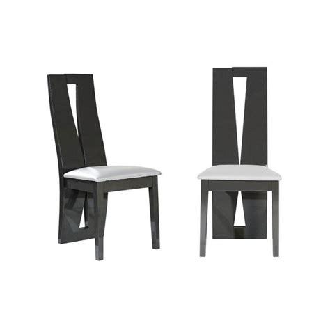 chaise moderne de salle a manger 30 incroyable chaise salle a manger grise et blanc lok9