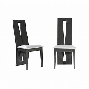 Chaise salle a manger grise chaises de salle 224 manger for Meuble salle À manger avec chaise grise et blanche