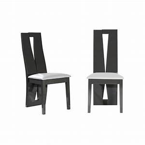 chaise salle a manger grise chaises de salle 224 manger With meuble salle À manger avec chaise grise salle a manger