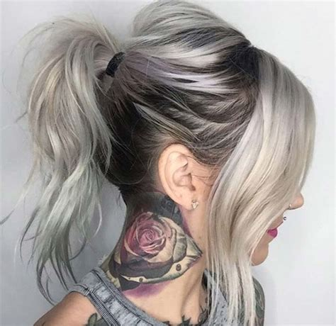 Dying Hair Ideas For Black Hair by 85 Silver Hair Color Ideas And Tips For Dyeing