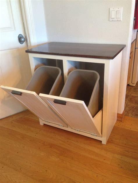 kitchen bin storage best 25 garbage can storage ideas on 2316