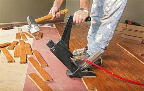 Steps  Preparing  Wood Floor Installers