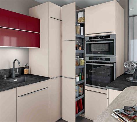 cuisine design petit espace cuisines petits espaces mobalpa