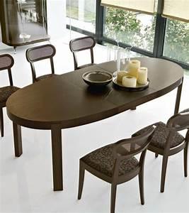 Table A Manger : table a manger ovale extensible ~ Teatrodelosmanantiales.com Idées de Décoration