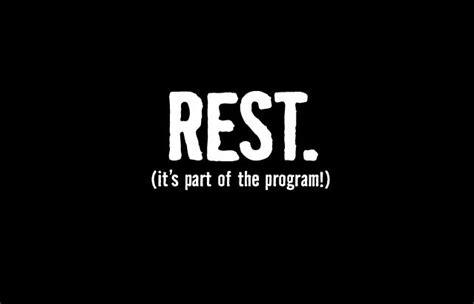 Rest Day Mental Mind Games