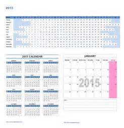 2015 Calendar Template Microsoft Word