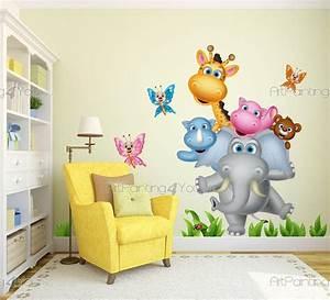 Wandtattoo Kinderzimmer Dschungel : wandtattoo kinderzimmer dschungel tiere vdi1156de ~ Orissabook.com Haus und Dekorationen