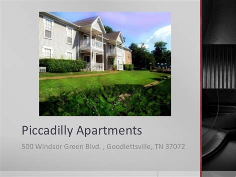 Apartments 500 In Tn by Piccadilly Apartments Goodlettsville Tn