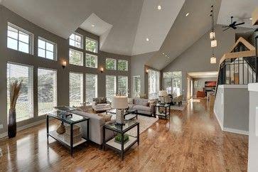 contemporary  deephaven contemporary living room