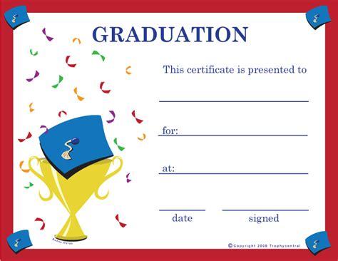 graduation certificates certificate  graduation