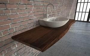 Waschtisch Holz Massiv : massivholz waschtische waschtischplatten nach mas ~ Lizthompson.info Haus und Dekorationen
