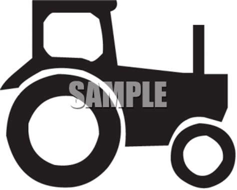 tractor black  white clipart clipground