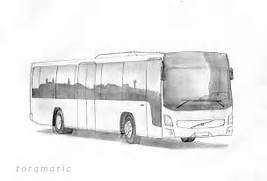 Bus Drawings Omega Bus  Bus Drawing